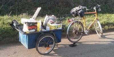 Zero Waste Pedal for the Planet - litter picking bike ride with FREE cake!