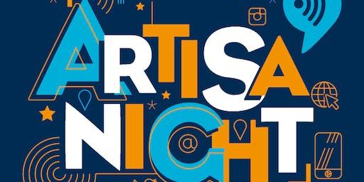 PARCOURS ARTISA'NIGHT 2019: LE NUMÉRIQUE DANS LE BÂTIMENT