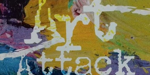 ART ATTACK INVITE YOU TO PARTICIPATE IN LIGHT-HEARTED PAINTING SESSIONS