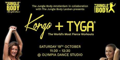 KONGA® + TYGA® Workout for ADE! billets
