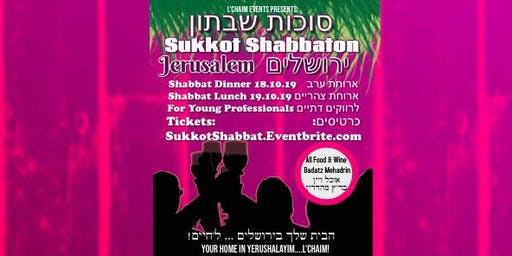 Jerusalem Shabbaton in the Sukkah