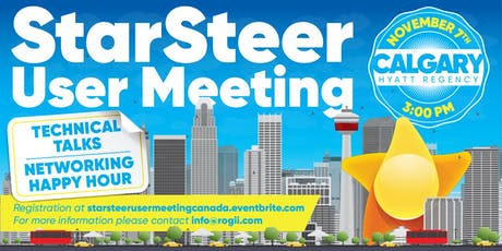 StarSteer Annual User  Meeting Canada tickets