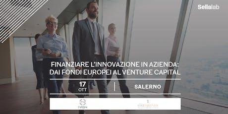 Finanziare l'innovazione in azienda: dai fondi eur biglietti