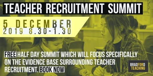 Teacher Recruitment Summit: FREE EVENT