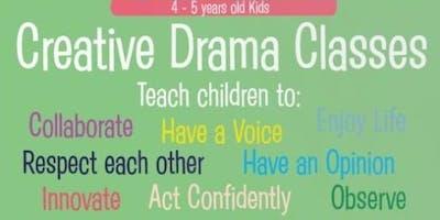 Drama For Kids (4-5 y.o.)