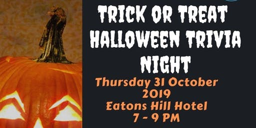 Trick or Treat Charity Trivia Night