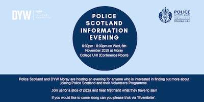Police Scotland information Evening