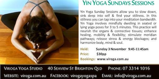 Yin Yoga Sunday Session at Viroga