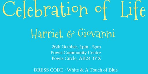 Celebration of Life with Harriet and Giovanni