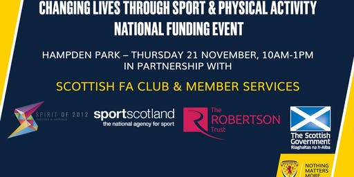 Changing Lives National Funding Event