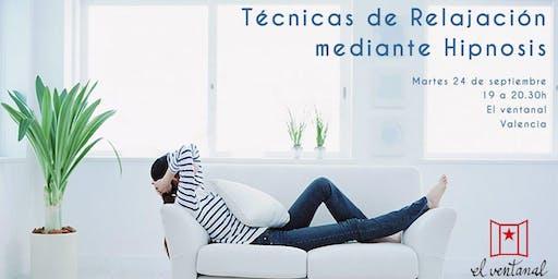Técnicas de relajación mediante HIPNOSIS