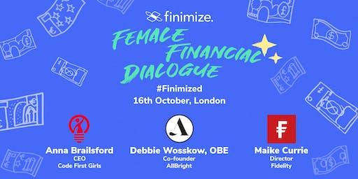 Female Financial Dialogue #Finimized 2019, London