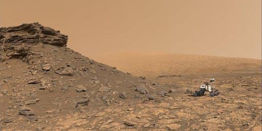 """CONFERENCIA  """"Crónicas marcianas: misiones NASA Curiosity, Insight y Mars"""""""