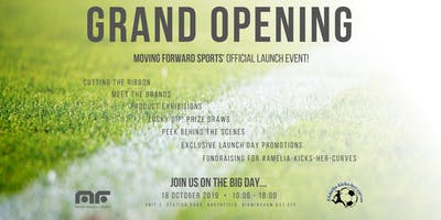 Moving Forward Sports - GRAND OPENING