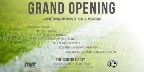 Moving Forward Sports - GRAND OPENING tickets