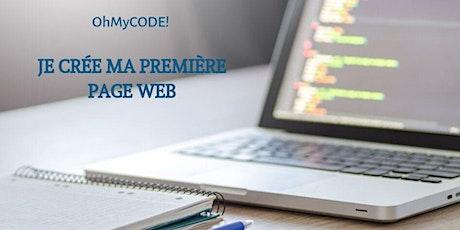 OHMYCODE! JE CRÉE MA PREMIÈRE PAGE WEB tickets