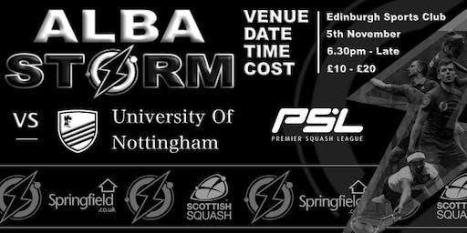 PSL - Alba Storm Vs Nottingham