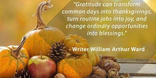 Gratitude Box Creative Healing Class