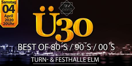 Ü30 Party Elm 2020 billets