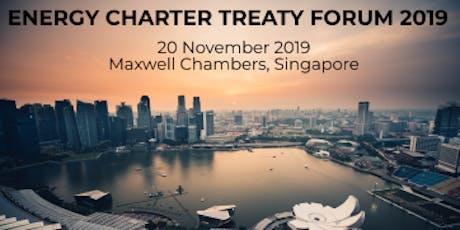 Energy Charter Treaty Forum 2019 tickets