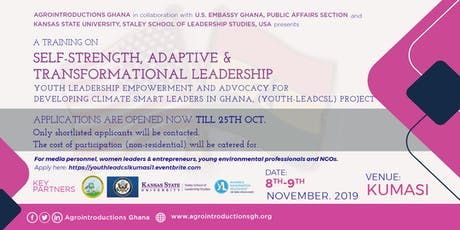 Youth Leadership Empowerment and Advocacy Training, Kumasi (Professional) tickets