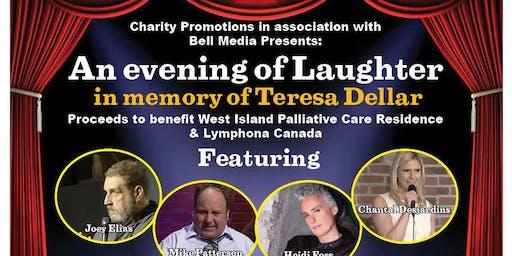 An Evening of Laughter in memory of Teresa (TC) Dellar