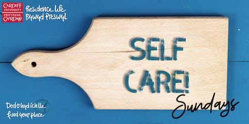 Talybont Self-Care Sunday   Dydd Sul Hunanofal Tal-y-bont