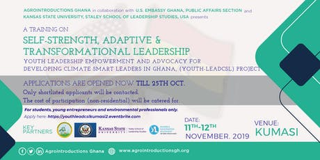 Youth Leadership Empowerment and Advocacy Training, Kumasi (Students) tickets