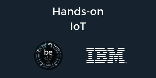 IoT Workshop with IBM - Brussels
