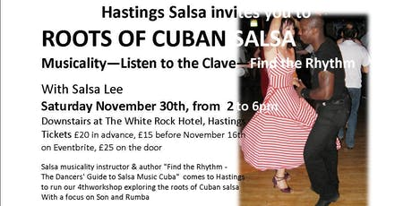 Roots of Cuban Salsa - Musicality tickets