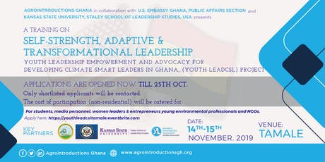 Youth Leadership Empowerment and Advocacy Training, Tamale tickets