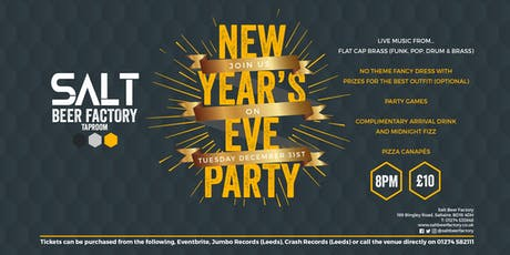 Salt's New Years Eve Party! tickets