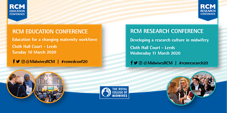 RCM Education Conference and RCM Research Conference 2020 tickets