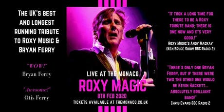 Roxy Magic: A Night Celebrating the music of Roxy Music and Bryan Ferry tickets
