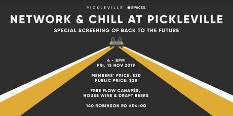 Network & Chill At Pickleville tickets