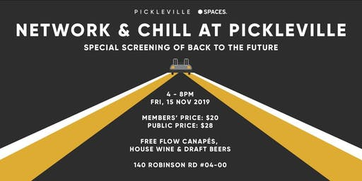 Network & Chill At Pickleville