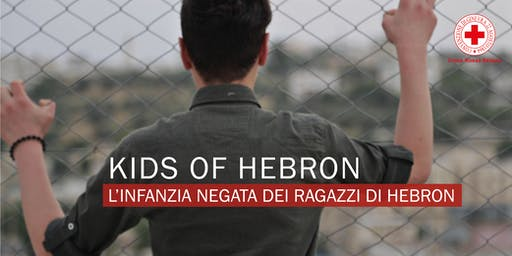 "Proiezione del documentario ""Kids of Hebron"""