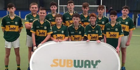 Subway Ulster GAA Provincial Indoor U14 Football Blitz tickets