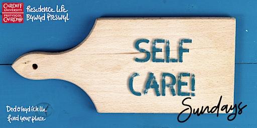 Uni Hall Self-Care Sunday | Dydd Sul Hunanofal Neuadd y Brifysgol