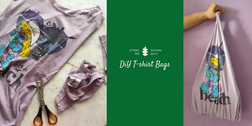 Recycling T-Shirts Into DIY Bags