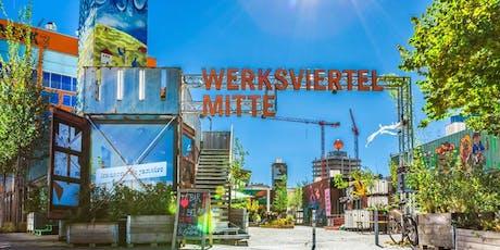 KunstLichtLeben – Exklusiver Rundgang durchs Werksviertel-Mitte Tickets