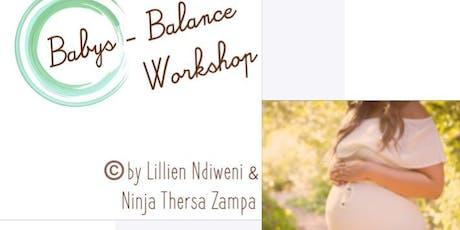 Baby Balance Workshop Tickets
