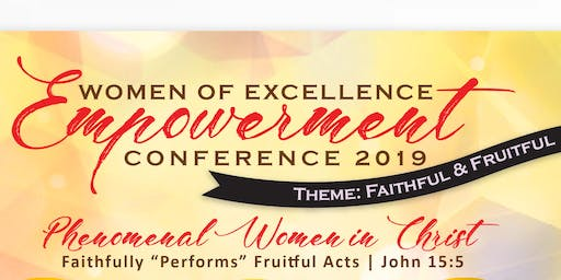 FAIRVIEW MBC WOMEN OF EXCELLENCE EMPOWERMENT CONFERENCE