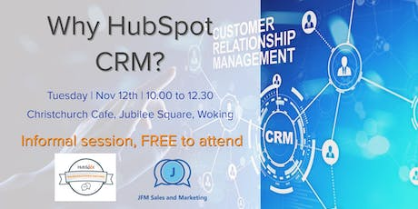 Why HubSpot CRM?  tickets