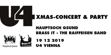 XMAS-CONCERT HAUPTSOCH GSUND & BRASS IT Tickets