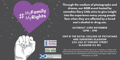 My Family, My Rights Glasgow - Scottish Families AGM tickets