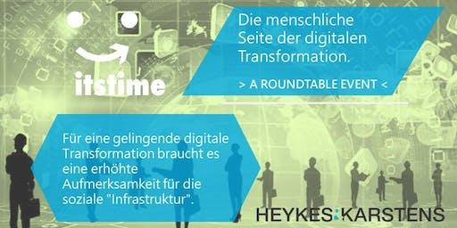 Roundtable- Die menschliche Seite der digitalen Transformtion
