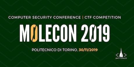 m0leCon 2019 biglietti