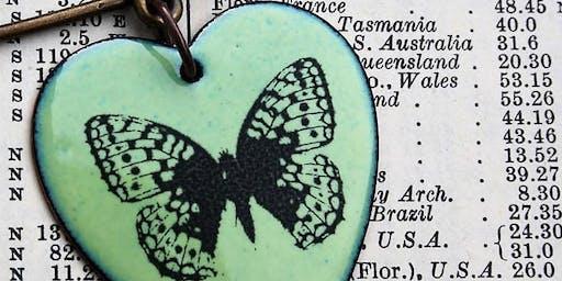 Creu Arwydd Serch Enamel | Make an Enamel Love Token