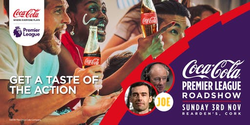 Coca-Cola Premier League Roadshow - Cork